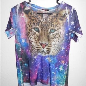 Galaxy and Leopard Jersey